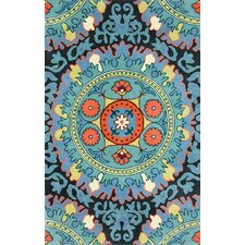 Fancy Blue Alejandra Area Rug
