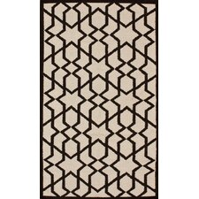 Gelim Trellis  Natural Geometric Area Rug
