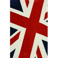 Cine Multi Union Jack Novelty Rug