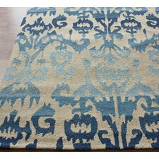 <strong>nuLOOM</strong> Pop Blue Ikat Rug
