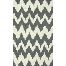 Pop Soft Grey nuChevron Rug