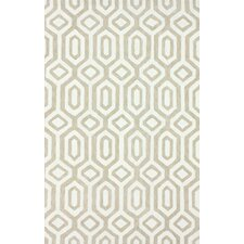 Pop Dove Grey Xue Trellis Rug