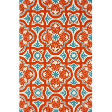 Braxton Red Indoor/Outdoor Area Rug