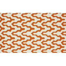 Trellis Orange Rhonda Rug
