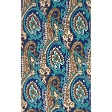 Fergie Turquoise Ikat Area Rug