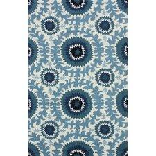 Fergie Ocean Blue Suzana Area Rug