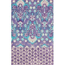 Metro Purple Dori Rug