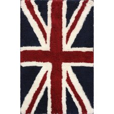 Moderna Blue UK Novelty Rug