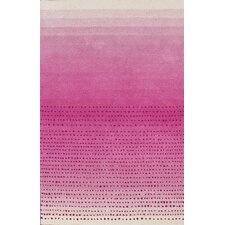 Moderna Pink Ombre Area Rug