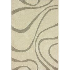 Shaggy Cream Caroyln Rug