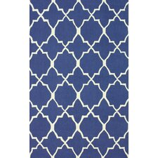 Trellis Regal Blue Neela Rug