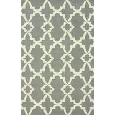 Trellis Grey Alice Rug