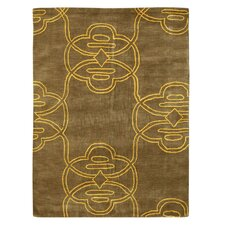 Elegance Tribal Gold Rug
