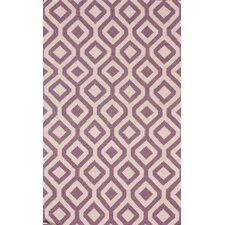 Flatweave Lavender Espallier Area Rug