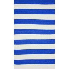 Brilliance Royal Blue Nautical Bold Area Rug