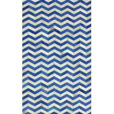 Hides Blue Waves Rug