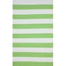 Brilliance Green Nautical Bold Area Rug