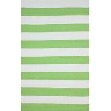 Brilliance Green Nautical Bold Rug