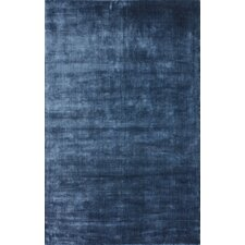 Brilliance Navy Solid Rug