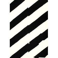 Cine Serano Black & Ivory Area Rug