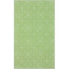 Fancy Light Green Tania Rug