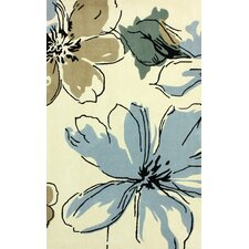 Cine Light Blue Rosalina Rug