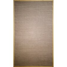 Natura Jute Brown Area Rug