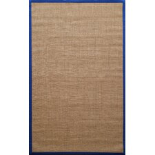 Natura Royal Blue Herringbone Rug