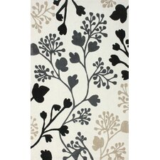<strong>nuLOOM</strong> Cine Light Beige Fall Leaves Rug