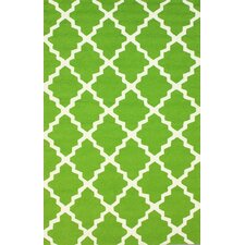 Veranda Green Filigree Outdoor Rug