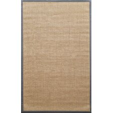 Natura Light Grey Herringbone Rug