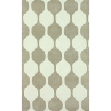 Gradient Brown Daisy Area Rug