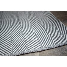 Bivouc Grey/White Mathew Area Rug