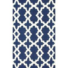 Homestead Blue Heather Geometric Area Rug