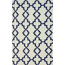 Flatweave Ivory Willow Area Rug