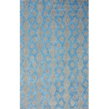 Brilliance Blue Hannah Plush Rug