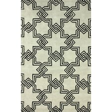 Gradient Carrey Black/Green Area Rug