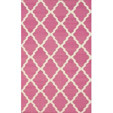 Moderna Pink Trellis Rug
