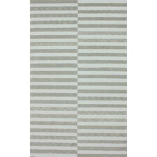 Brilliance Light Grey Stitch Rug