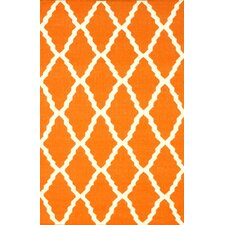 Moderna Orange Trellis Rug