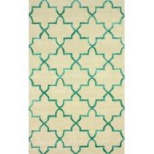 Goodwin Beige/Green Camila Area Rug