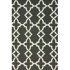 Flatweave Grey Willow Area Rug