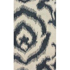 Goodwin Cream/Black Sketched Swirl Area Rug