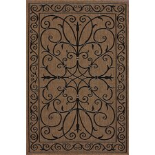 <strong>nuLOOM</strong> Villa Outdoor Brown Kiah Rug
