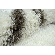 Shag Brown Plush Area Rug