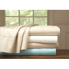 Stripe 510 Thread Count Pima Cotton Euro Sham (Set of 2)