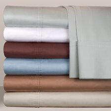 <strong>Pointehaven</strong> 500 Thread Count Deep Sheet Set