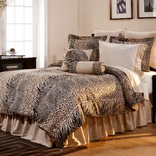 Luxury 12 Piece Animal Print Comforter Set