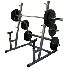 BD-6 Safety Squat Bench Combo Rack