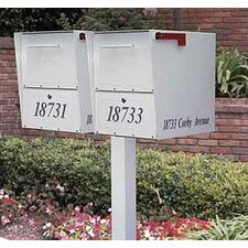 <strong>Architectural Mailboxes</strong> Oasis Duo Double Column Mounted Mailbox